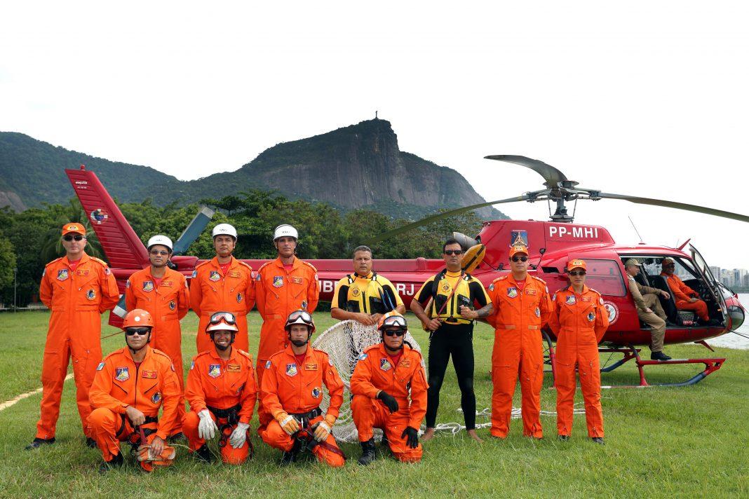 Rio de Janeiro, 02/02/2017. Dia a dia do Grupamento de Operações Aéreas do Corpo de Bombeiros. Fotos: Carlos Magno