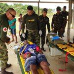 Aviação do Exército presta apoio à comunidade e realiza resgates em áreas remotas de selva. Foto: Cap Alzimir e TC Pinheiro