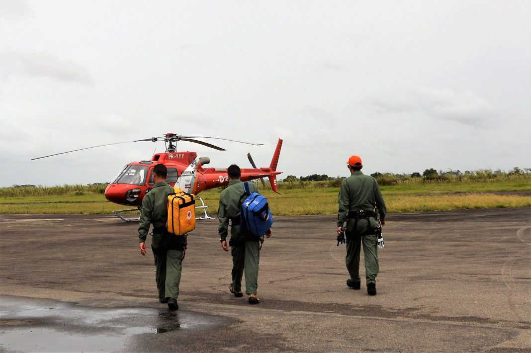 Samu de AL possui helicóptero exclusivo para salvamentos e resgates aeromédicos. Foto: Carla Cleto.