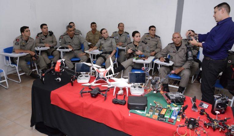 Polícia Militar da Paraíba realiza primeiro curso de operador de drone para operações de segurança pública