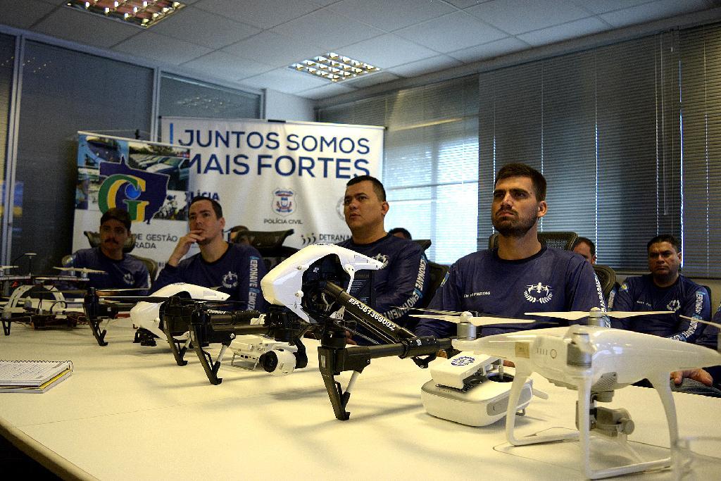 Servidores do Mato Grosso são capacitados para utilizar drones no combate à criminalidade