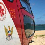 Falcão 05 realizou o socorro de uma vítima de afogamento em Lagoa Azeda, Litoral Sul de Alagoas. Foto: Antonio Sotto.