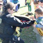 Projeto sobre meios de transporte traz helicóptero do Saer em escola de Forquilhinha