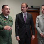Quinta Companhia do Batalhão de aviação da PMSC recebe Moção de Aplauso na Alesc.