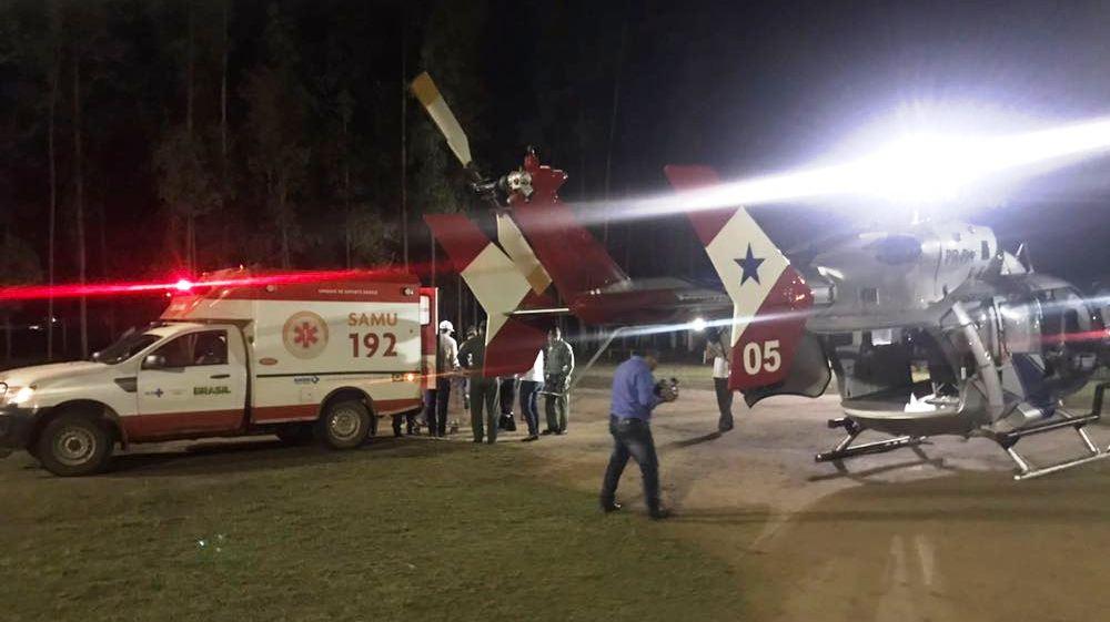 Grupamento Aéreo de Segurança Pública do Pará, realiza transporte urgente de uma vítima com eclampsia