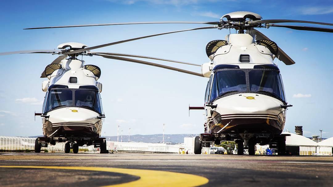 Helicópteros H175 da Royal Thai Police – RTP). Foto: Airbus.