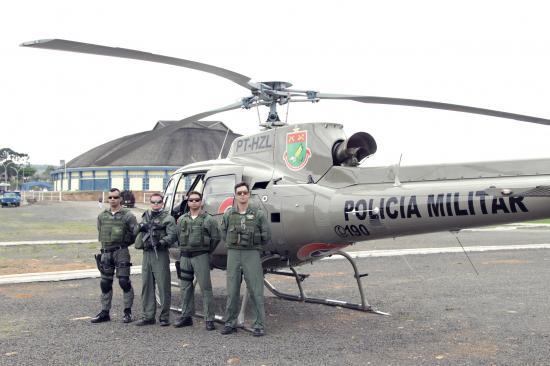 Águia 4 de Lages em ação! De transporte aeromédico a policiamento nos Jogos Abertos
