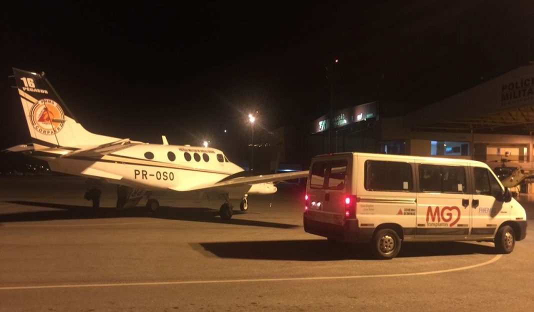 Comando de Aviação da PM de Minas realiza 03 missões aeromédicas em menos de 48 horas