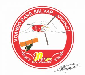 O Designer Thiago Pedrezani desenvolveu a arte para homenagear os 10 anos do Batalhão de Operações Aéreas de Minas Gerais.