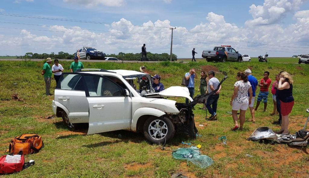 Vítima em estado grave é socorrida pelo Ciopaer em rodovia