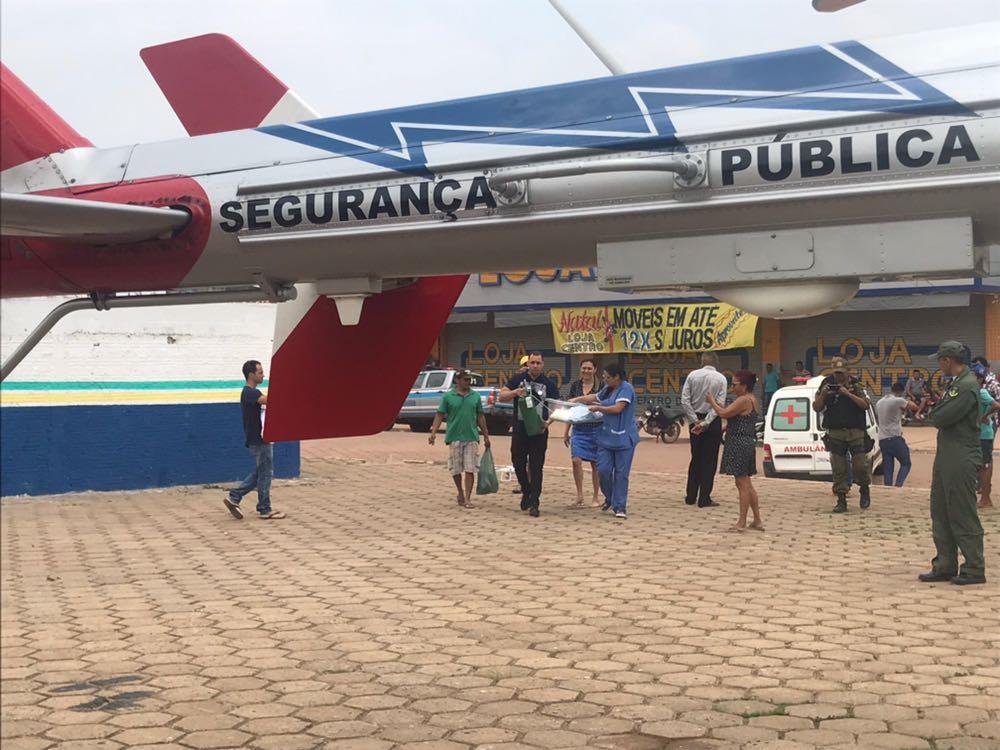GRAESP é acionado para Remoção Aeromédica de recém-nascida de Anapu para Santarém