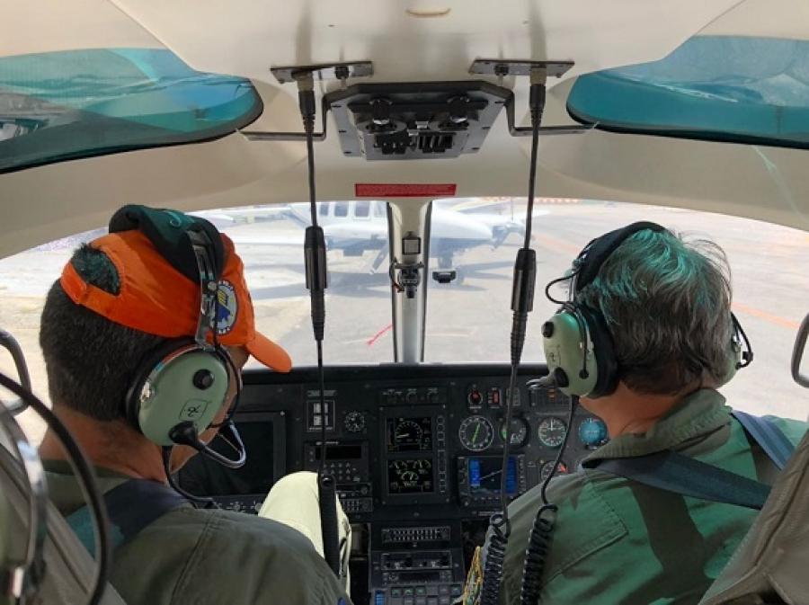 Grupamento Aéreo da SSP participa de processo de revalidação de pilotos de Pernambuco