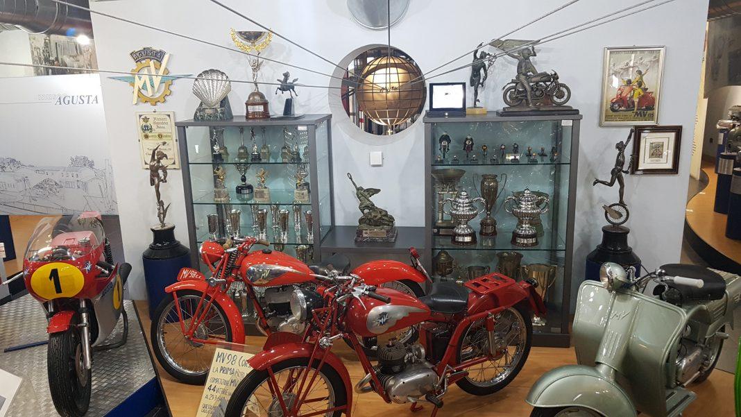 Museu Agusta. Foto: Mauro Beni.