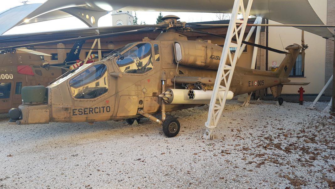Museu Agusta. A129. Foto: Mauro Beni.