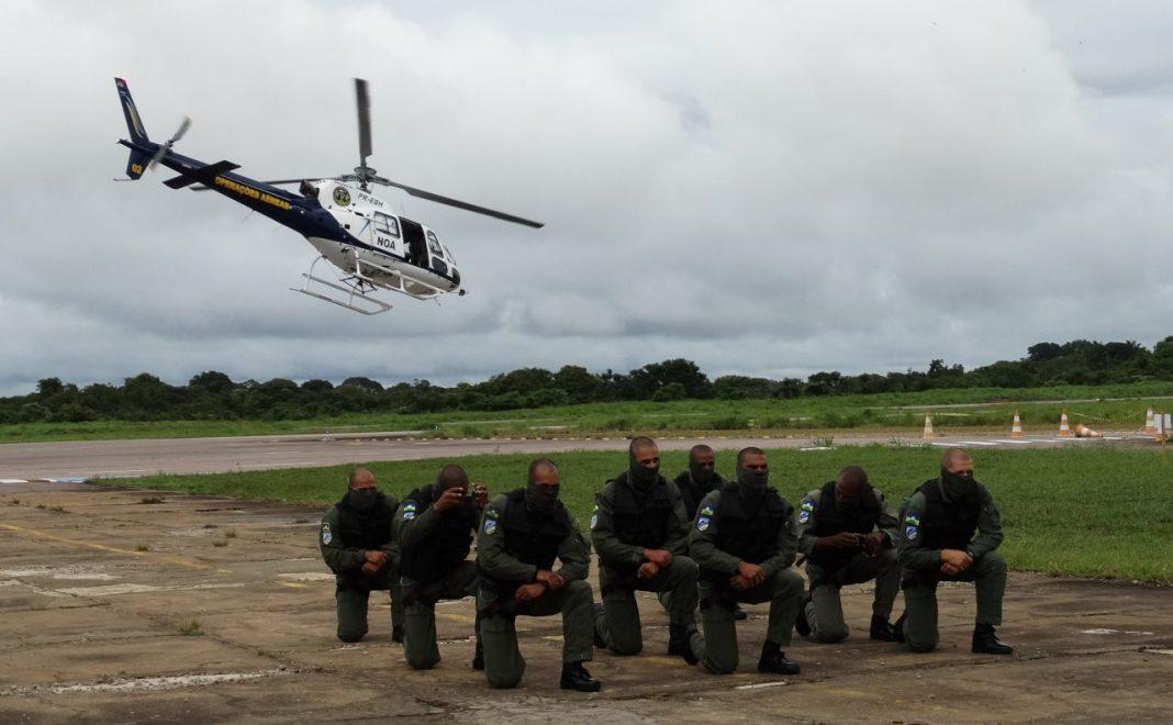 Dez agentes da Segurança Pública foram habilitados pelo NOA - Foto: Márcia Martins