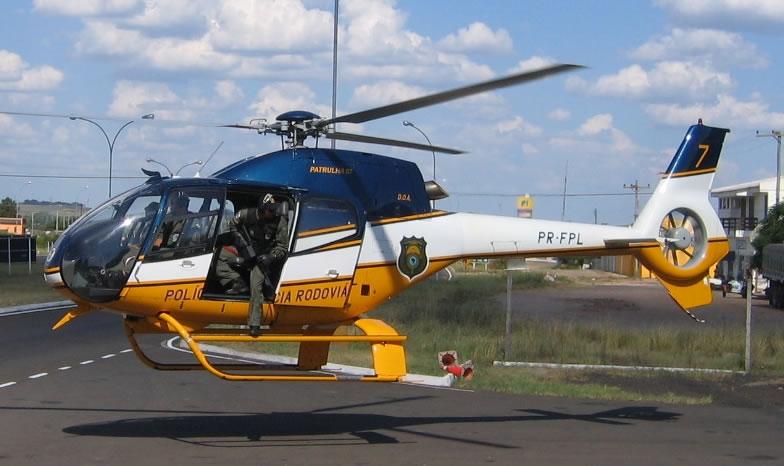 Helicóptero H120 Colibri (EC120B) operado pela PRF no Brasil.