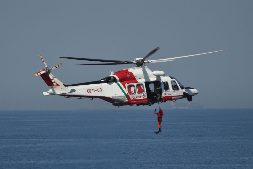 AW 139 em operação Guarda Costeira Italiana