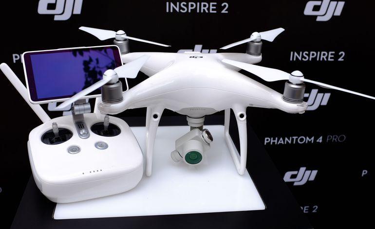 DJI Phantom 4 Pro. Imagem Ilustrativa.