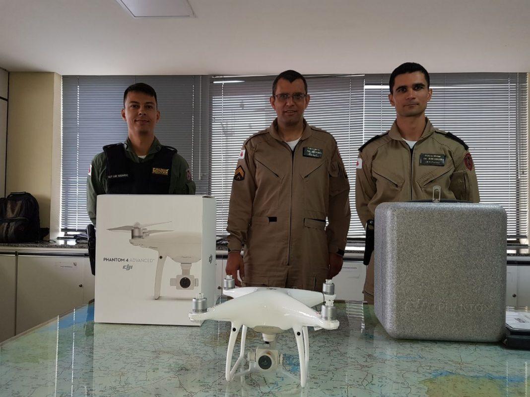 Comando de Aviação da PM de Minas adquire drone para missões de policiamento preventivo