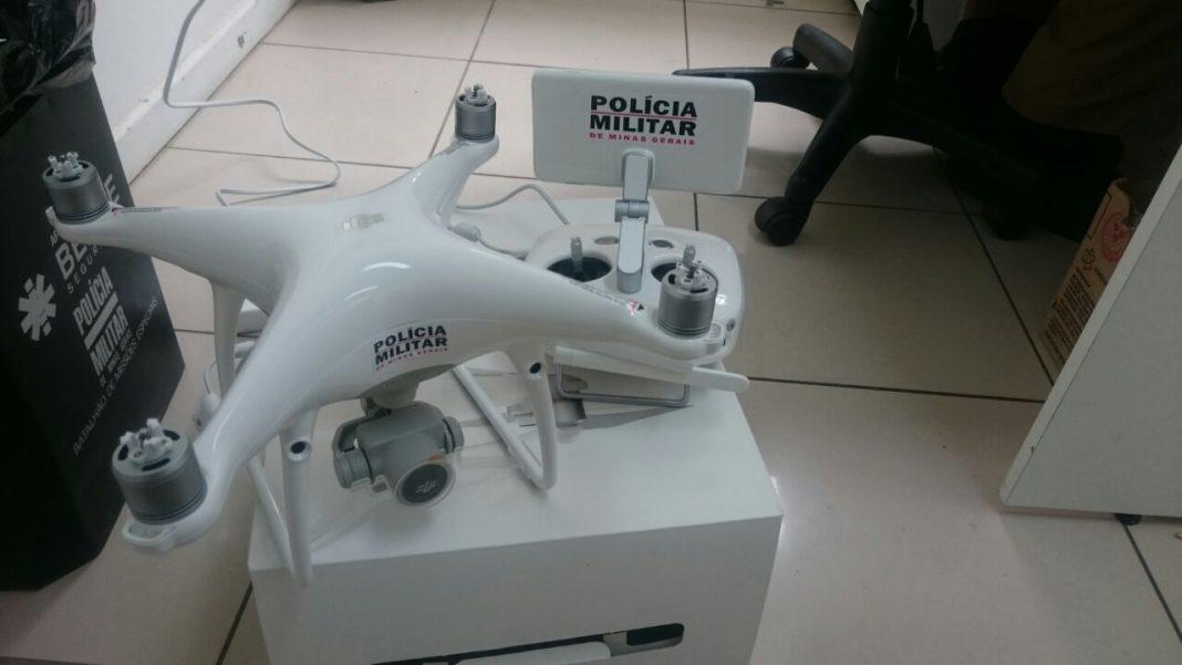 Comando de Aviação da PM de Minas adquire drone para apoiar o policiamento preventivo