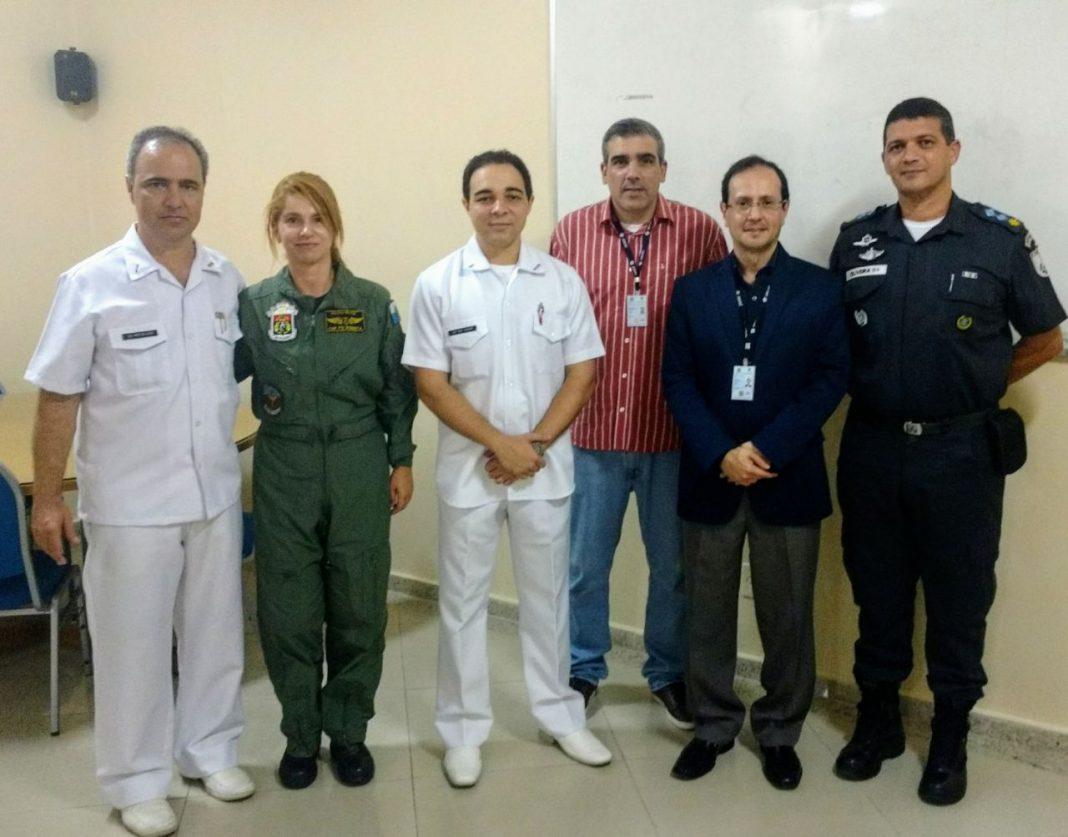 Representantes da ANAC, HPM-NIT e GAM