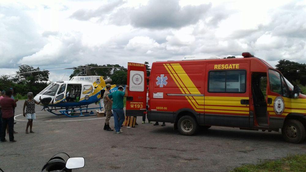 CIOPAER de Tocantins realiza remoção aeromédica de vítima de grave acidente com ônibus no interior do Estado