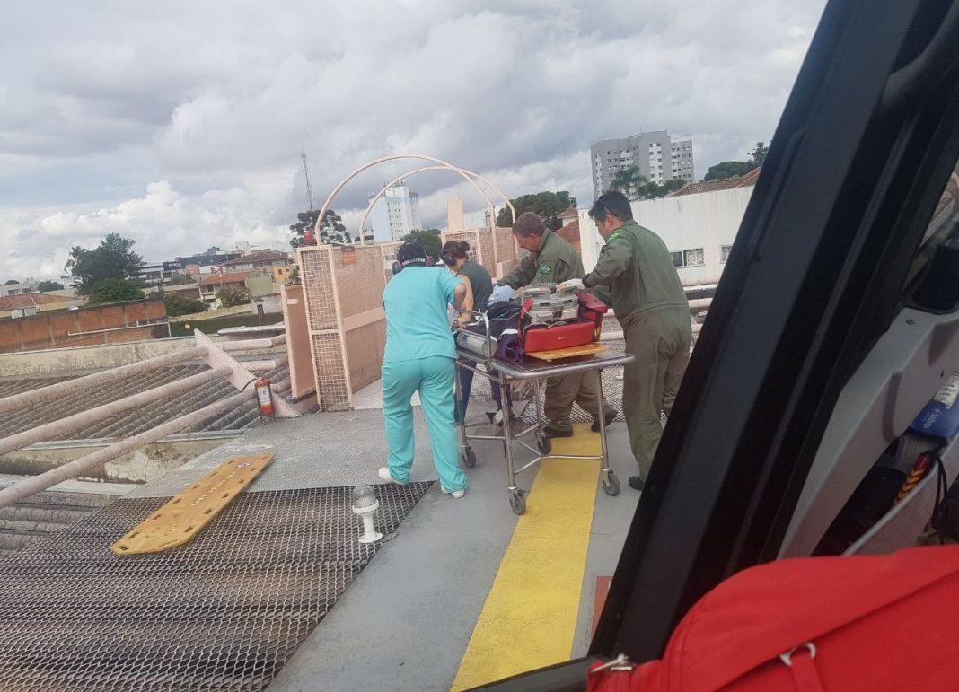 Batalhão de Operações Aéreas da PM é acionado para resgatar vítimas em Curitiba e Região Metropolitana