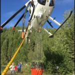 Helicóptero recuperado (Foto: FAA)