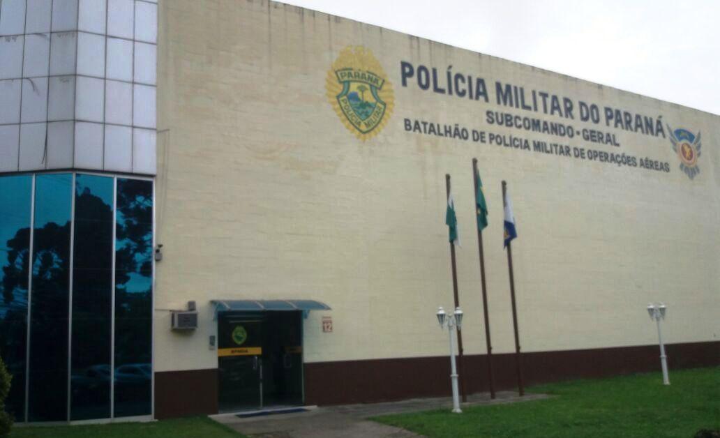 Sede do BPMOA no Aeroporto de Bacacheri. Foto: Eduardo Beni.