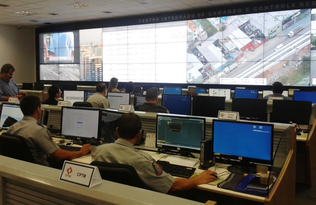 Centro Integrado de Comando e Controle de São Paulo – CICC.