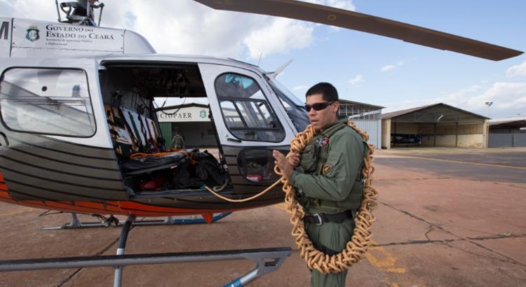 Ciopaer do Ceará apresenta balanço das operações aéreas realizadas no Estado em 2017