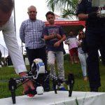 Guarda Civil de São Paulo inicia serviço de salvamento aquático com o uso de Drones na Represa Guarapiranga. Foto: Divulgação GCM.