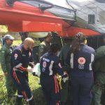 Piloto de ultraleve é resgatado por aeronave da CIOPAer após pouso forçado em Aquiraz, CE. Foto: CIOPAER/CE