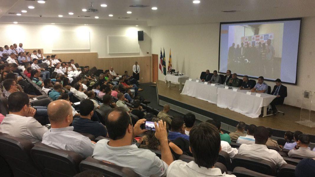 Grupamento Aéreo da PM da Bahia promoveu encontro com operadores de drones em Salvador