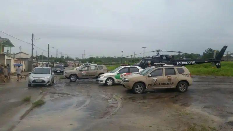 SAER da Polícia Civil apoia operação que prendeu autores de duplo homicídio em Criciúma