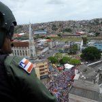 GRAER da PM da Bahia atua na Lavagem do Bonfim com ações ostensivas