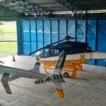 Helicópteros da PRF participaram da operação de segurança realizada durante o julgamento de Lula no TRF-4