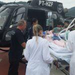 SAER de Criciúma realiza transporte aeromédico de menina com grave enfermidade hepática
