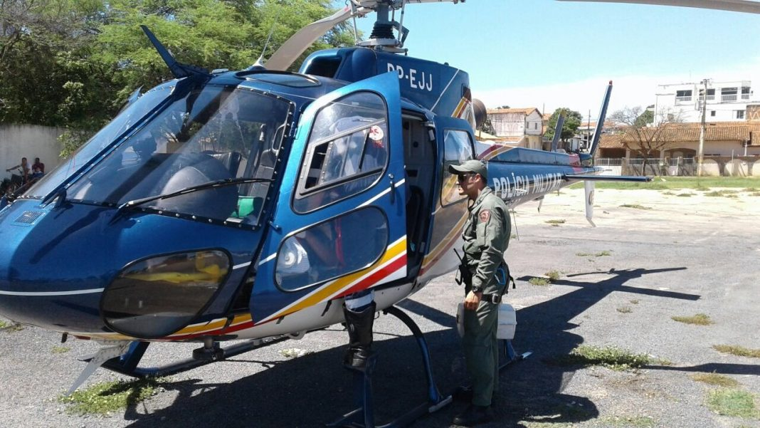 Pégasus 07 da PM de Minas realiza atendimentos aeromédicos nas cidades de São Francisco e Taiobeiras
