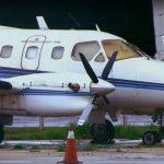 Aviões de órgão público estão parados há muitos anos do Aeroporto JK. Foto: Reprodução TV Globo