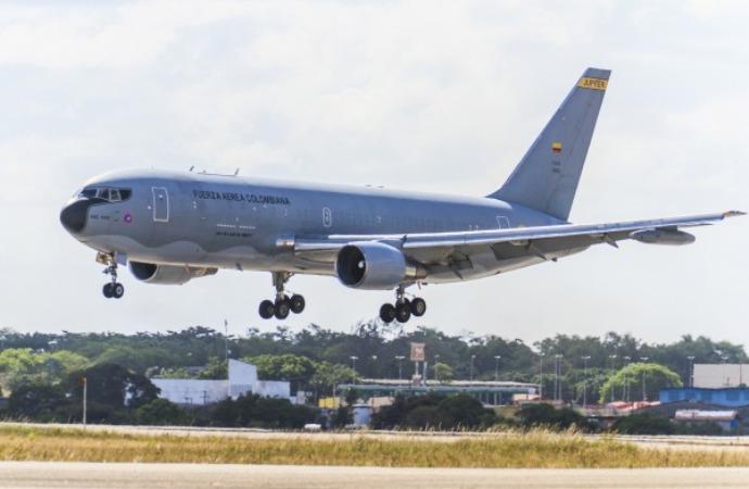 Boeing 767 da FAB realiza primeira missão de evacuação aeromédica. Foto: Agência Força Aérea.