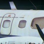 Aviões de órgão público estão parados há muitos anos do Aeroporto JK. Foto: Reprodução TV Globo.