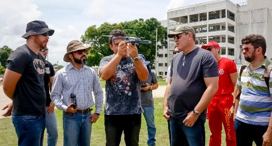 Academia Estadual de Segurança Pública do Ceará promove primeiro curso de operador de drones
