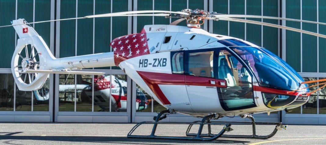 Helicóptero monomotor SKYe SH09