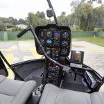 O novo helicóptero R44 do Batalhão de Operações Aéreas da PM do Paraná será utilizado em ações policiais e instrução. Foto: Arnaldo Alves / ANPr.