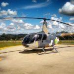 O novo helicóptero R44 do Batalhão de Operações Aéreas da PM do Paraná será utilizado em ações policiais e instrução