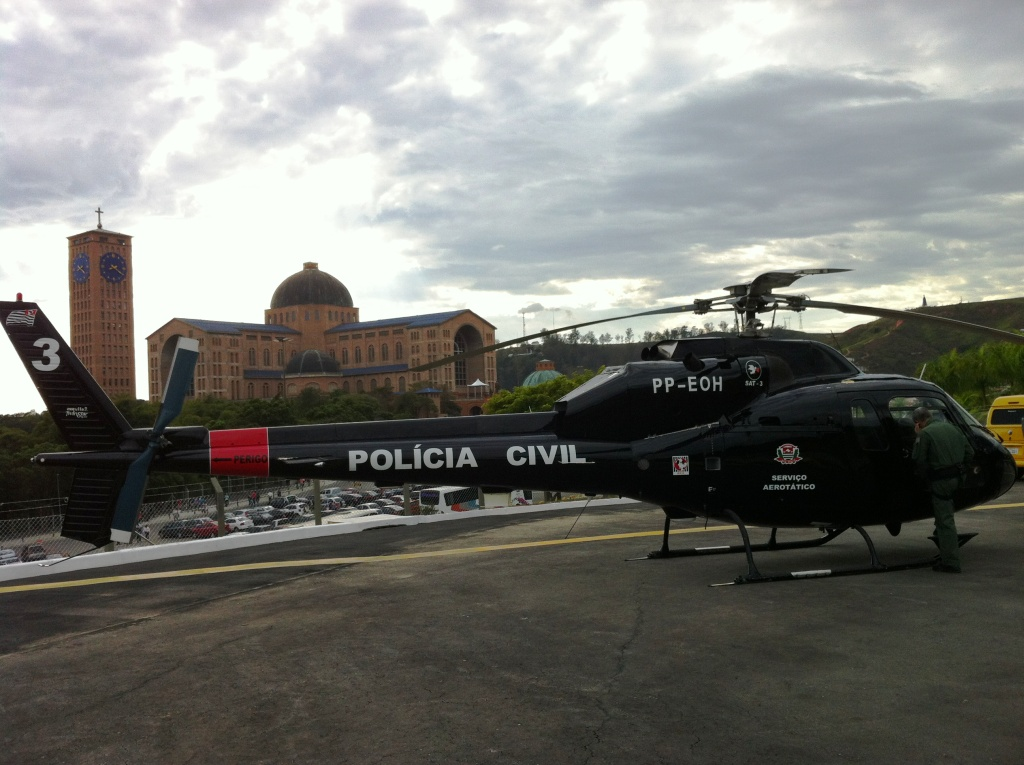 helicóptero AS355F2 - SAT 3, matrícula PP-EOH (1993)