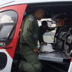 Oficial do CIOPAER de Tocantins visita o Grupamento Aéreo da PM de São Paulo