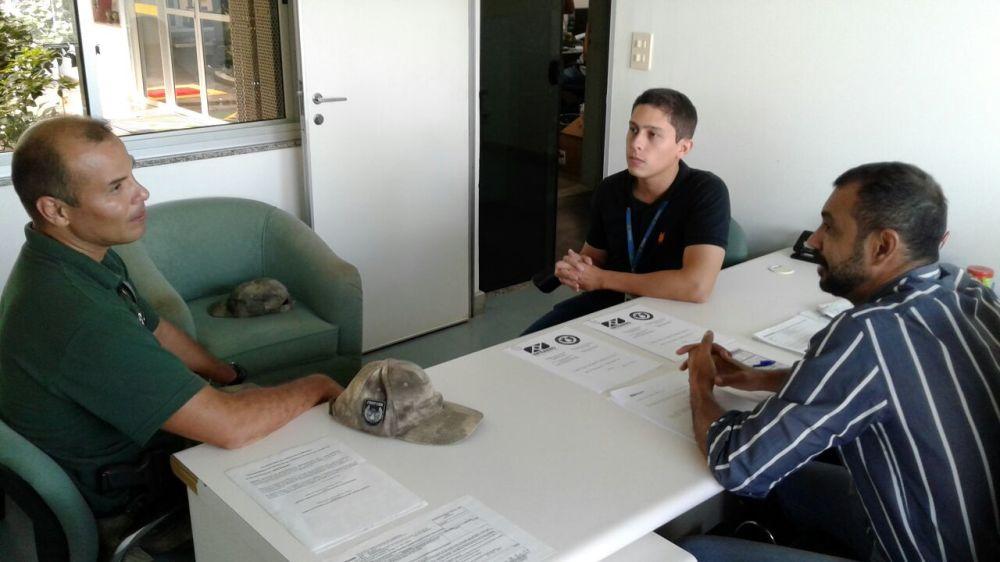 CIOPAER participa de reunião com direção de Estação Prestadora de Serviço de Tráfego Aéreo em Palmas