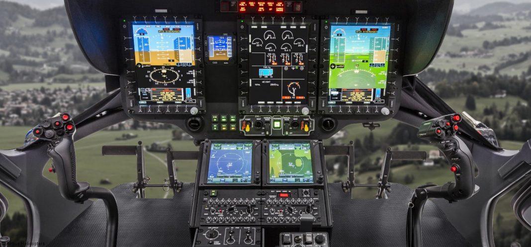 H135 Helionix, Cockpit.  Imagem Airbus.